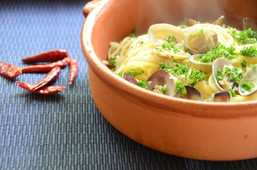Spaghetti Vongole Bianco with Shio Koji