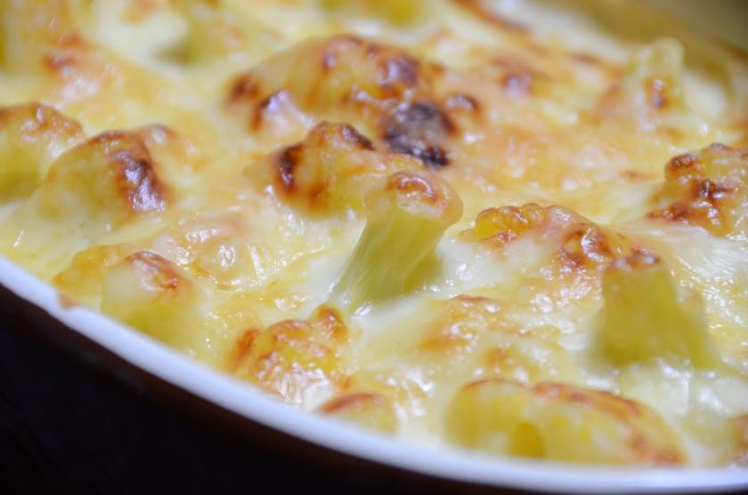 Cauliflower Cheese with White Miso