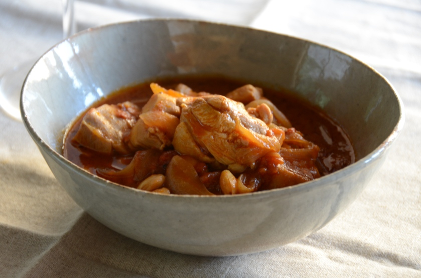 Chicken Stew with Red Miso